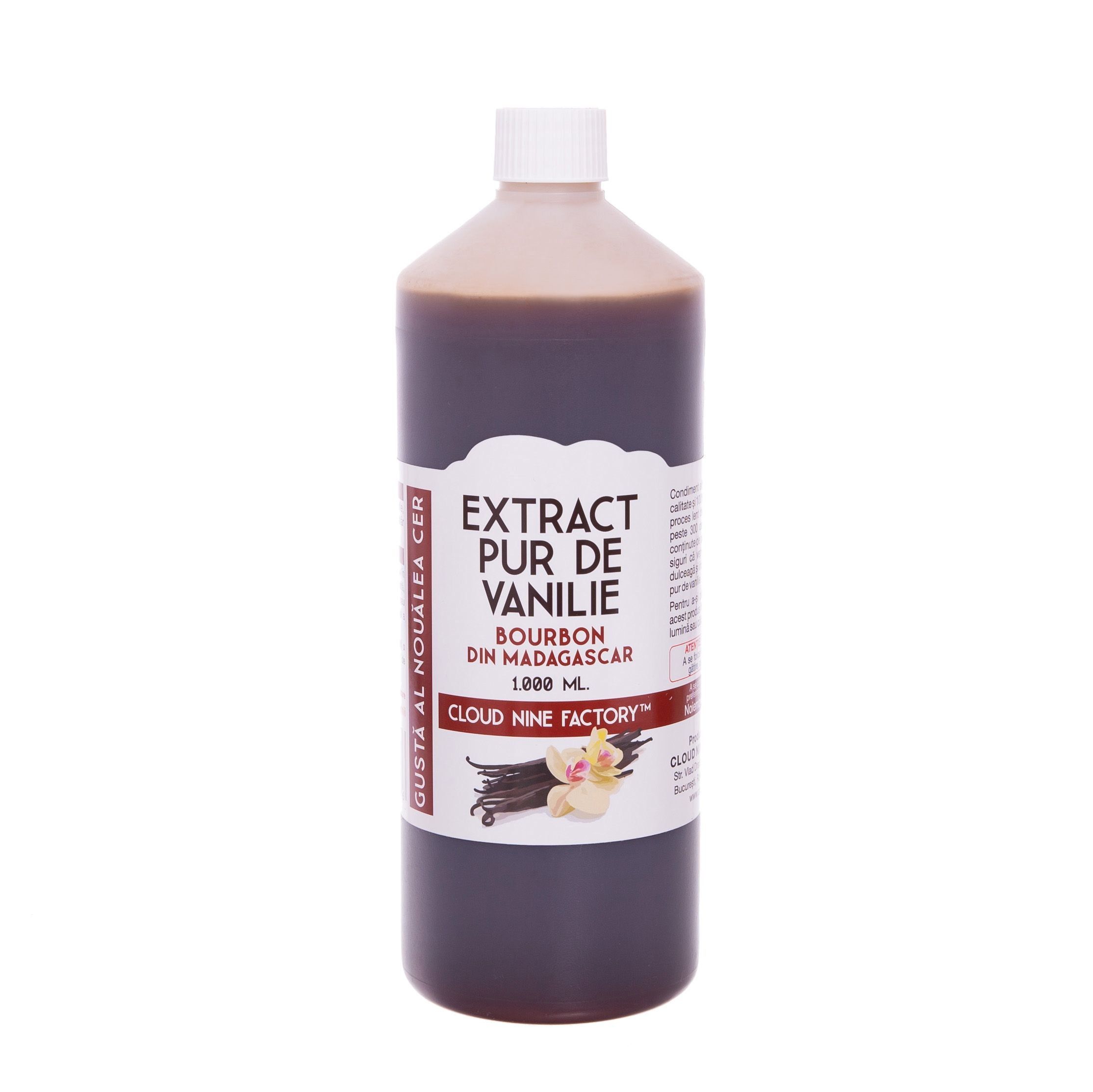 Extract Pur de Vanilie Bourbon de Madagascar (1.000 ml.) extract pur de vanilie bourbon din madagascar (1.000 ml.) - IMG 2647 - Extract Pur de Vanilie Bourbon din Madagascar (1.000 ml.) magazin online - IMG 2647 - Cloud Nine Factory™ ⛅ Magazin online